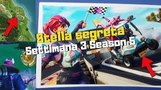 STELLA SEGRETA SETTIMANA 3 - SEASON 5 #FORTNITE