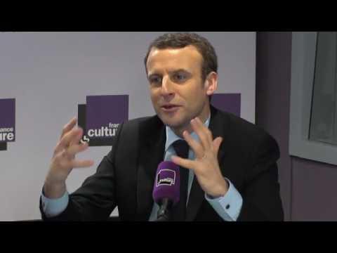 Emmanuel Macron à France Culture 1