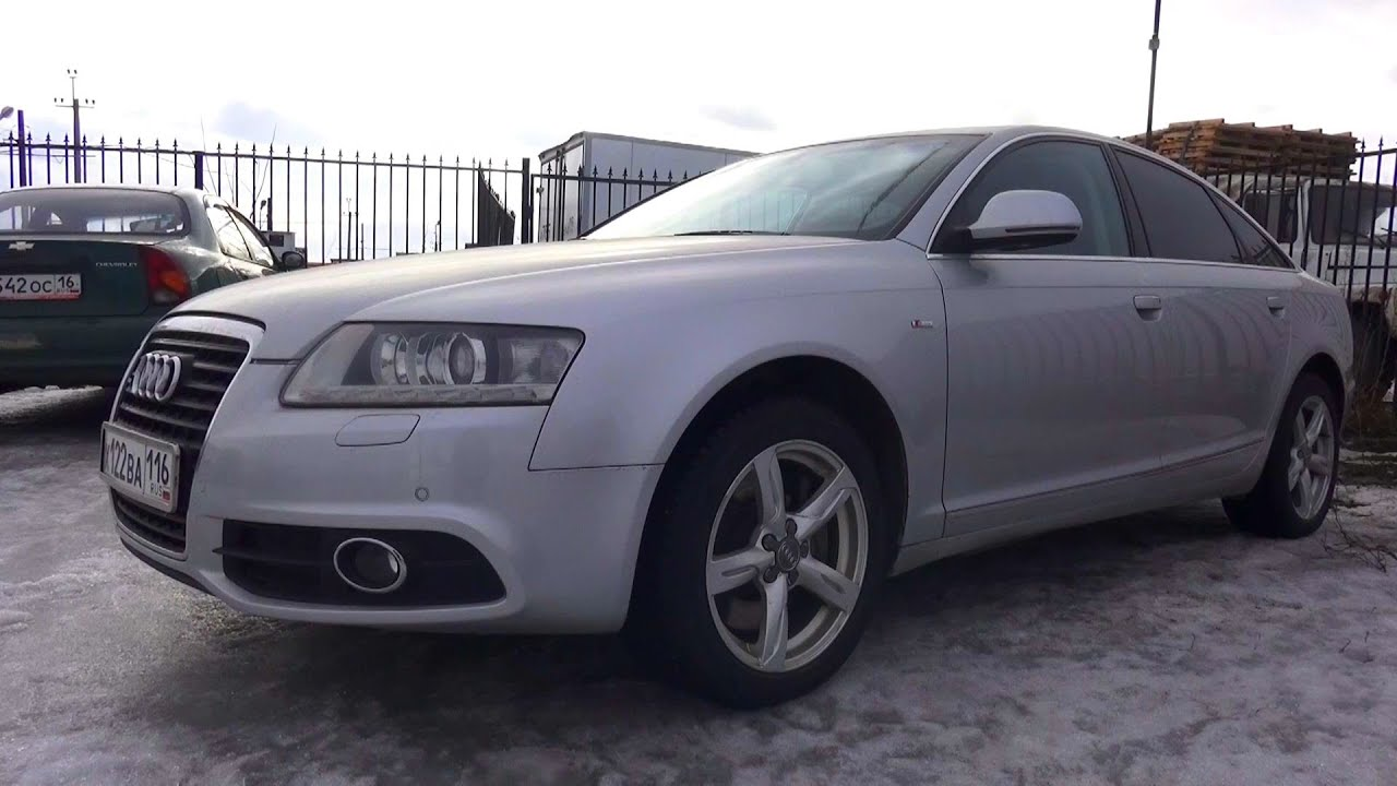 hight resolution of 2010 audi a6 3 0 tfsi quattro s line start up engine and in depth tour