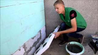 Как правильно приклеить пенопласт(Видеогайд о том как правильно клеить пенопласт от ведущего поставщика стройматериалов в Запорожской и..., 2015-10-02T08:15:57.000Z)