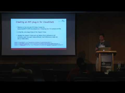 Developing API Plug-ins for CloudStack (from CCC Dublin 2015)