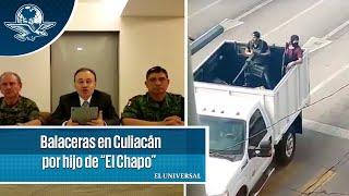 """Informa Durazo cómo encontraron a hijo de """"El Chapo"""""""