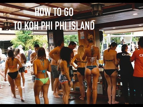 How to go to Koh Phi Phi Islands Thailand guide | walking street | ep 1
