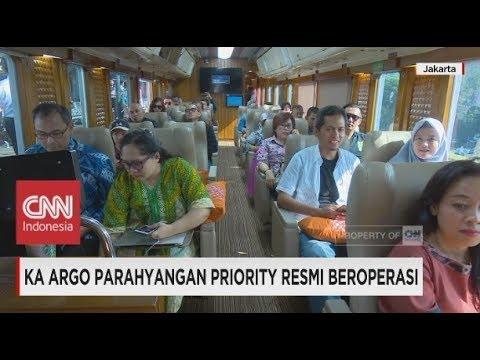 Melihat Mewahnya KA Argo Parahyangan Priority, Jakarta - Bandung