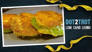 Cheesy Fried Green Tomatoes