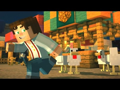 Minecraft: Story Mode - Chasing Chickens (3)