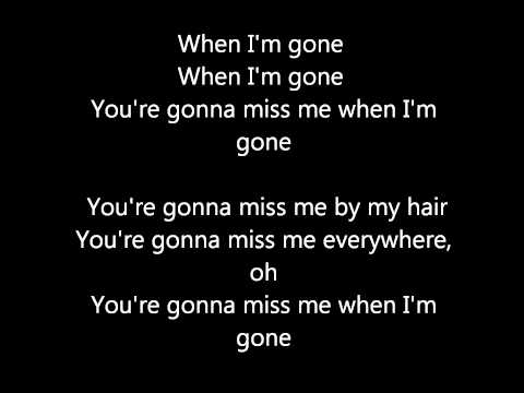 Lyrics to When I'm Gone (The Cup Song) - Pitch Perfect