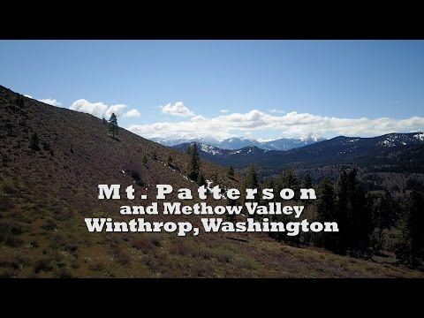 Mt Patterson and Methow Valley