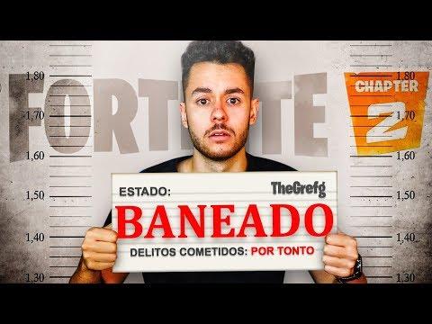 Me BANEAN por TONTO en Fortnite - TheGrefg