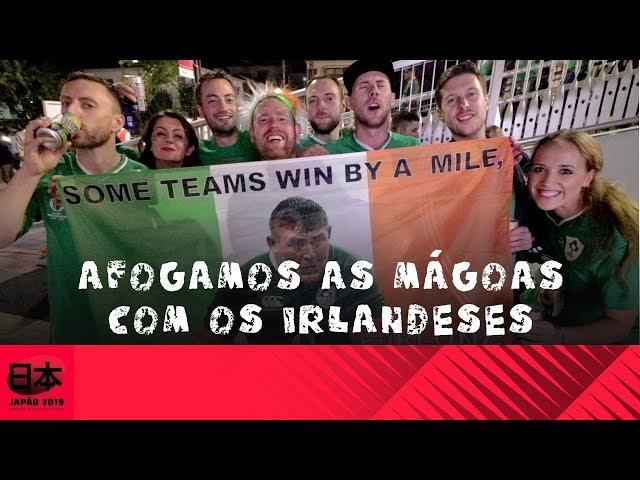 DDJ All Blacks x Irlanda:  Afogamos as mágoas com os irlandeses -