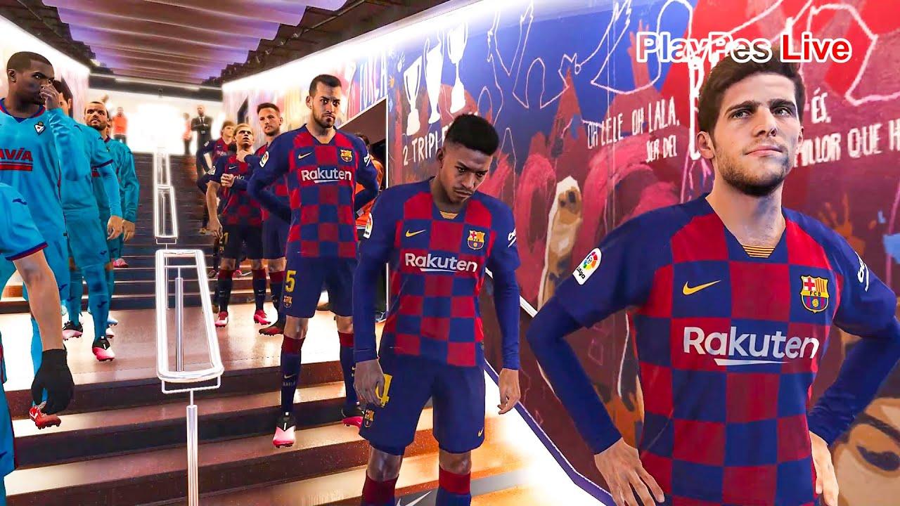 PES 2020 - Barcelona vs Eibar - Full Match & Goals ...