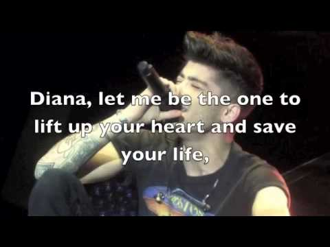 One Direction   Diana NEW LEAKED SONG MIDNIGHT MEMORIES Lyrics + Pictures)
