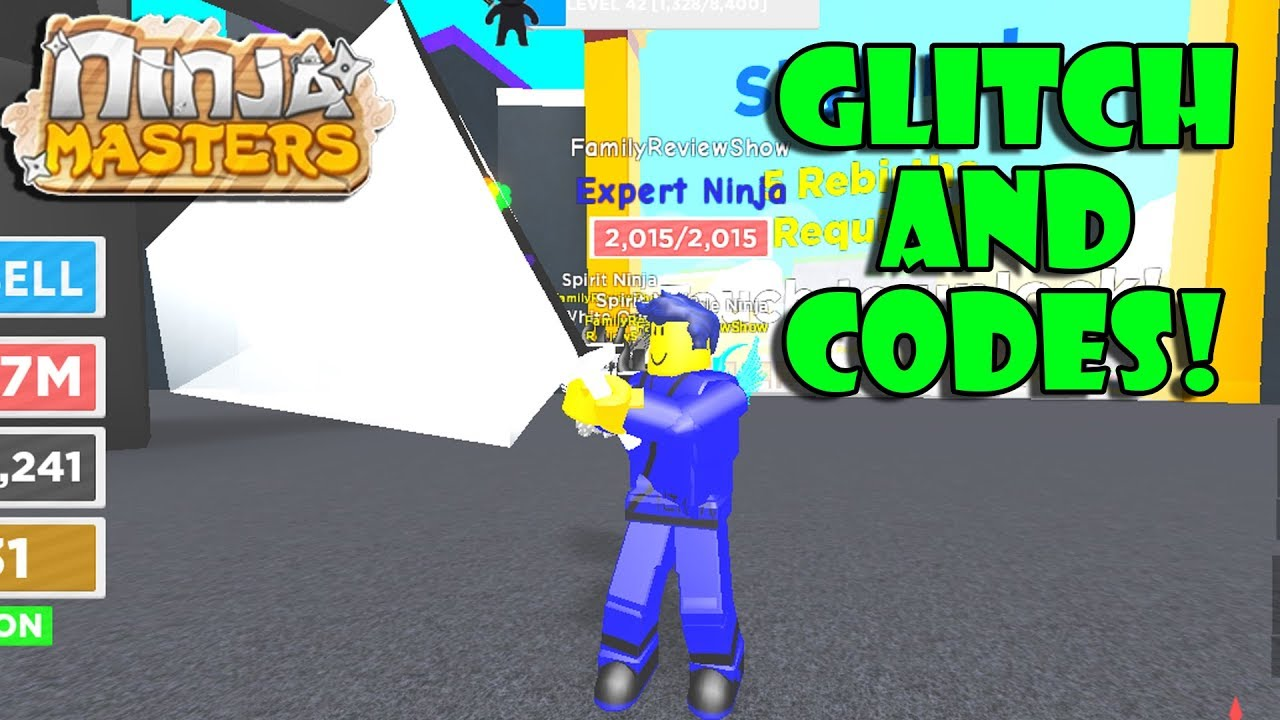 Ninja Masters Glitch And Free Token Codes March 2019 Youtube
