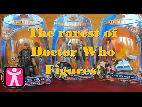 The Most Rarest Doctor Who figures
