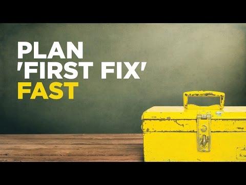 Plan 'First Fix' Fast