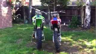 What sounds best 2 stroke or 4 stroke motocross bikes ?????