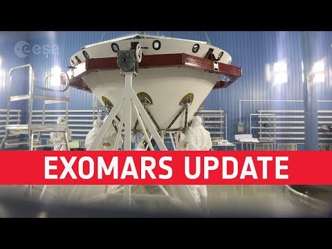 ExoMars progress update