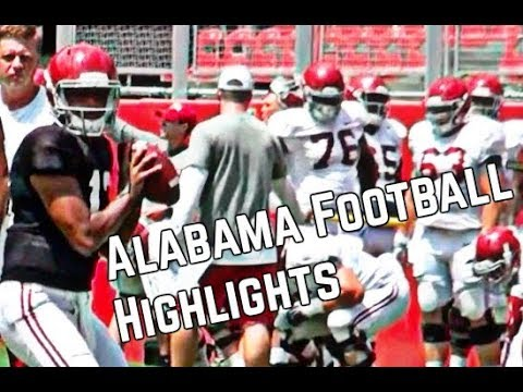 Alabama Football Highlights