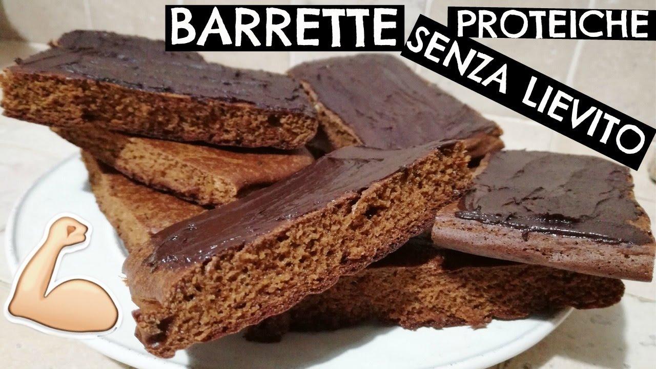 barrette proteiche al cioccolato♡   ricetta fit - youtube