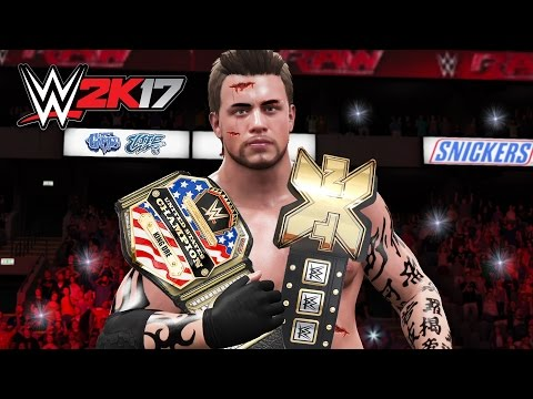 WWE UNITED STATES CHAMPIONSHIP!! Part 1 (WWE 2K17 My Career - Episode 12)