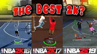 NBA 2K19 VS. NBA 2K17 VS. NBA 2K16! WHICH WAS THE BEST NBA 2K?! 🤩