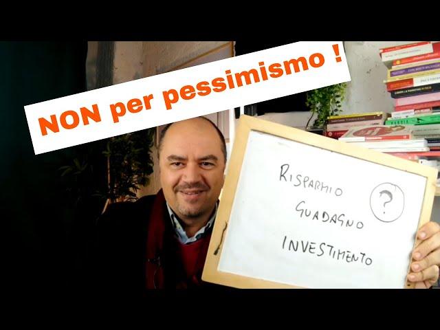 Guadagno, Risparmio, Investimento (Educazione Finanziaria by Coach Sebastiano for Kuvera)