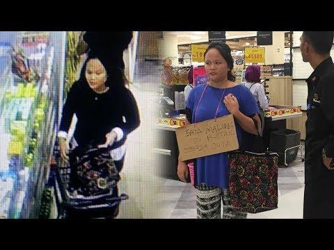 Ketahuan Maling di Aeon Mall, Wanita Ini Diberi Sanksi Sosial, Total Harga Hasil Curiannya Fantastis