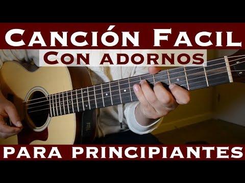 Cancion Facil de 3 Tonos para Principiantes (Tutorial Guitarra) en Ritmo Ranchero