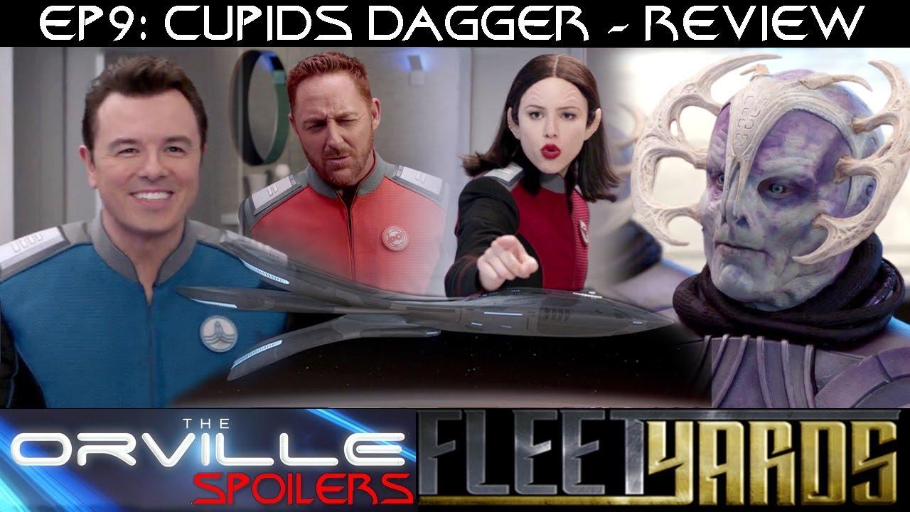 """Download Orville S01E09 """"Cupids Dagger"""" Spoiler Review/Analysis - Fleetyards"""