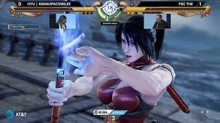 E3 2018 - Soulcalibur VI - Taki Vs Nightmare - ESL Arena Tournament