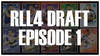 RUGBY LEAGUE LIVE 4 DRAFT | EPISODE 1