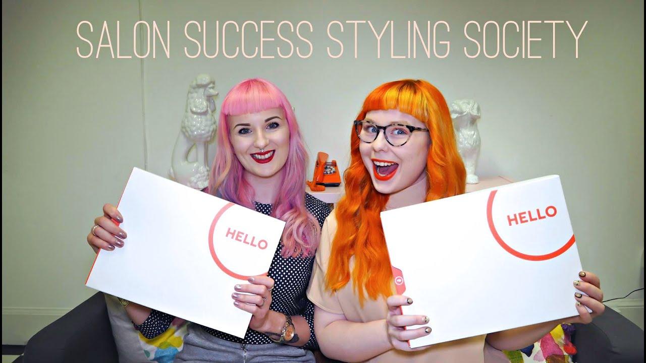 Salon success styling society youtube for Salon success