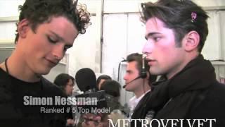Sean O'Pry interview to Simon Nessman (2011)