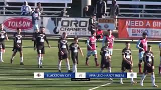 Highlights: Round 15 - Blacktown City FC v APIA Leichhardt Tigers FC