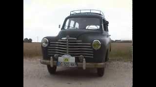 renault prairie colorale 1952 moteur 85 soupapes latérales