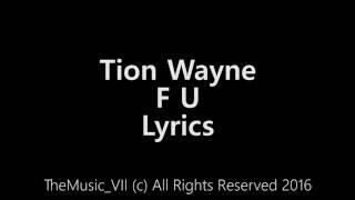 Tion Wayne - F U [Lyric Video]