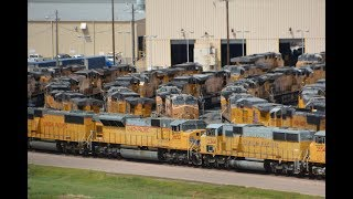 Union Pacific's Bailey Yard North Platte Nebraska