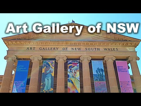 Art Gallery NSW - Free Entry - Sydney Australia Vlog