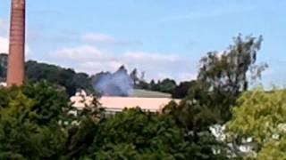 Smoke 06/6/2011 11.30 am . Tiverton Devon UK