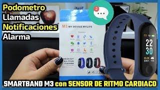 SMARTBAND M3 con SENSOR DE RITMO CARDIACO | Yoho Sports