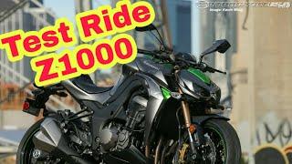 Test Ride : Z1000
