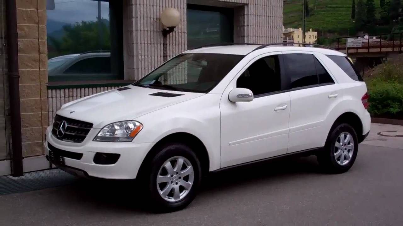carcompany bolzano 2007 mercedes ml 350 4matic white black youtube. Black Bedroom Furniture Sets. Home Design Ideas