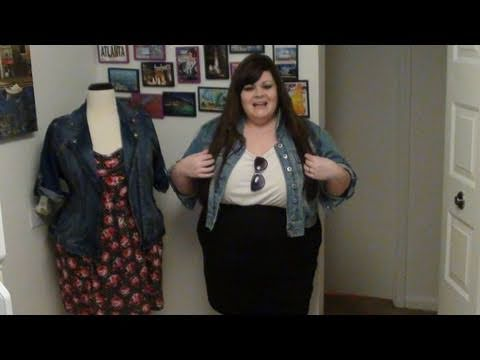 Celeb Inspired Denim Jacket Looks for Spring (Plus Size). http://bit.ly/2WCYBow