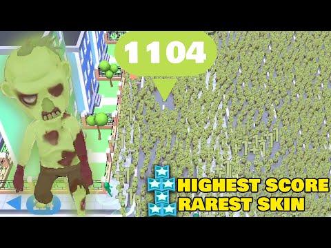 Crowd City - 1104+ HIGHEST SCORE (RAREST SKIN) ‹ AbooTPlays ›