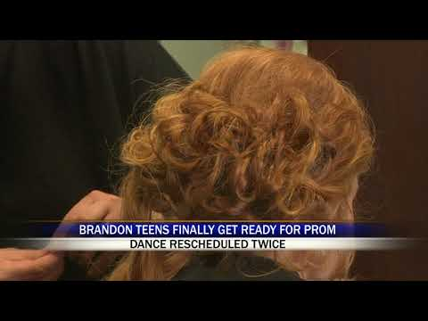 Brandon Salon Opens on Day Off to Accommodate Students of Postponed Prom