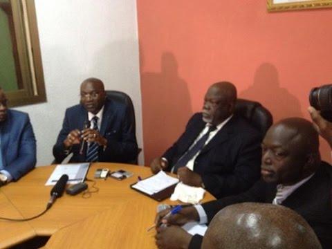 Ovajab Media, Conférence de presse pour le soutien à la candidature unique au RHDP