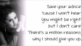 Selena Gomez   Heart Wants What It Wants (Paroles, Lyrics)