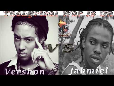 Vershon Vs Jahmiel 2017 (The  Lyrical War is On)  Mix by Djeasy