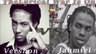 Download Vershon Vs Jahmiel 2017 (The  Lyrical War is On)  Mix by Djeasy MP3 song and Music Video