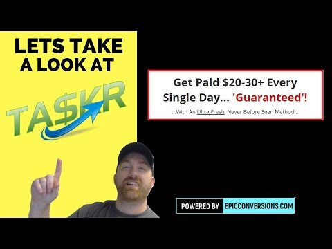 Taskr - Review and Bonus - Get Paid $20-30+ Every Single Day